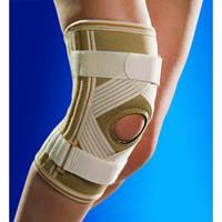 Бандаж на колено с силиконовым кольцом 0025 OSD