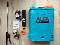✔️ Аккумуляторный садовый опрыскиватель AL-FA | 16Л, 12Ah