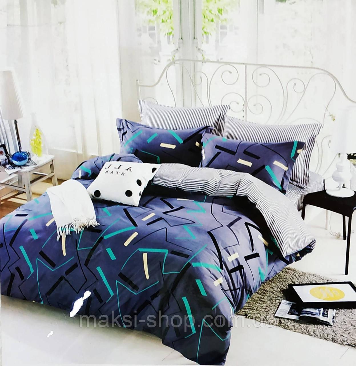 Двохспальный комплект постельного BAYN HOMES  Koloco байка (BЕ-0030)