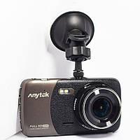 Автомобильный видеорегистратор Anytek B50H на 2 камеры / авторегистратор / регистратор авто