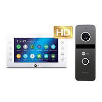 Комплект цветного видеодомофона NeoLight Kappa+ HD / Solo FHD Graphite