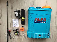 ✔️ Опрыскиватель аккумуляторный  Al-Fa  ( 16л ) ( 12Ah ) ( 12V ), фото 2