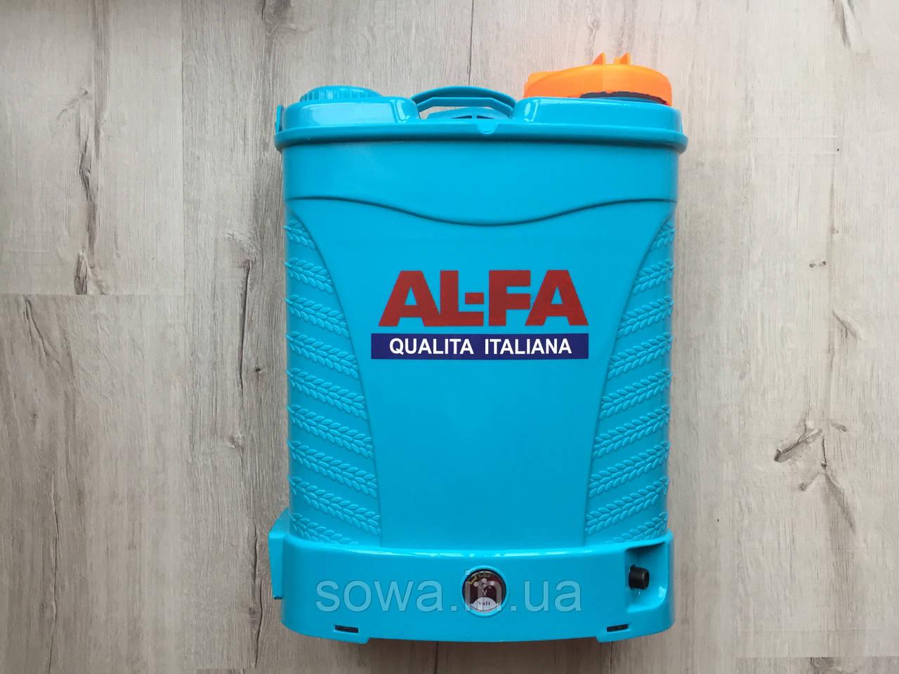 ✔️ Опрыскиватель аккумуляторный  Al-Fa  ( 16л ) ( 12Ah ) ( 12V )
