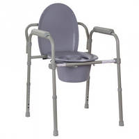 Туалет для инвалидов, стул туалет для больного, кресло с туалетом складной стул-туалет OSD-RB-2110LW
