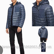 Пуховик мужской Calvin Klein Packable down hooded jacket