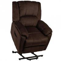 Подъемное кресло с двумя моторами HANNA (коричневое) OSD