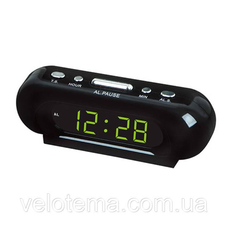 Часы сетевые настольные электронные LED