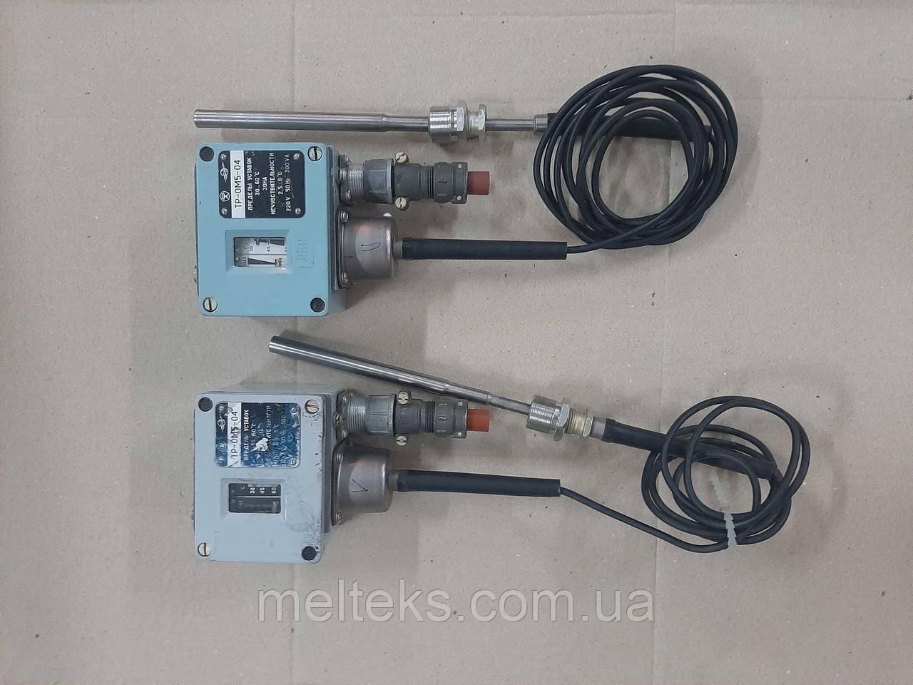 Реле температури ТР-0М5-04 для дизелів, компресорів