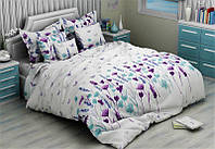 Постельное белье ,постельное белье с цветами  , постельное бязь
