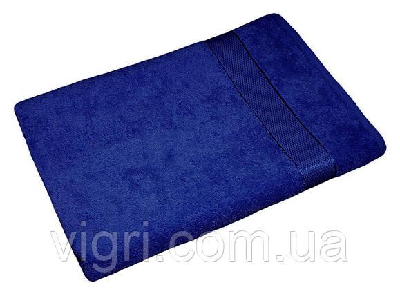 Полотенце махровое Азербайджан, 40х70 см., синее, фото 2
