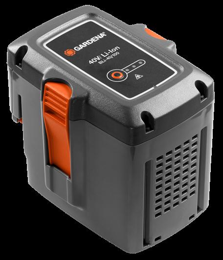 Аккумулятор BLI-40/100 40В, 2,6А/ч, Li-Ion Gardena | (09842-20.000.00)