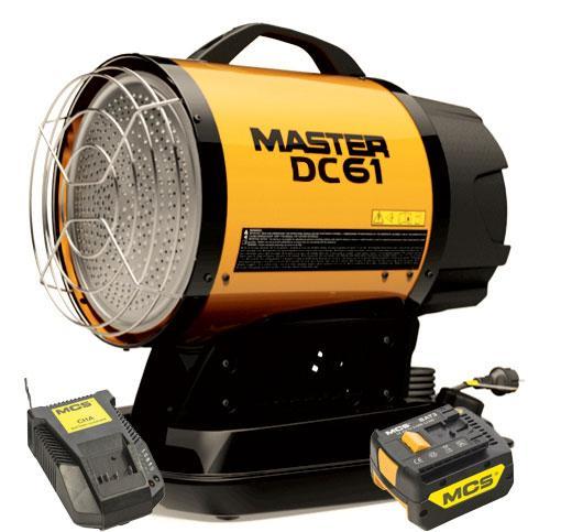 Дизельный инфракрасный нагреватель воздуха Master Climate Solutions DC 61