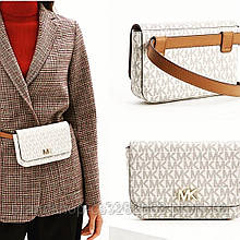 Поясная сумочка Michael Kors Mott logo belt bag.