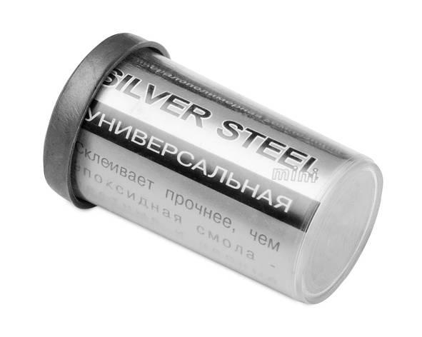 Холодная сварка Silver Steel малая 20 г, фото 2