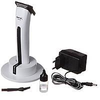 Профессиональная машинка для стрижки Gemei GM 725 / триммер для усов и бороды