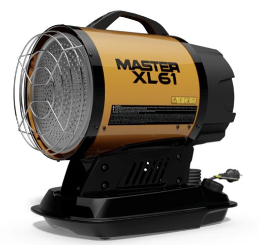 Дизельный инфракрасный нагреватель воздуха Master Climate Solutions XL 61