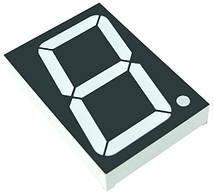 Світлодіодний індикатор зелений GNS-15011BUG-11 1.5 дюйм цифровий семисегментний G-NOR 6169t
