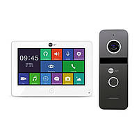 Комплект цветного видеодомофона NeoLight Alpha HD / Solo FHD Graphite, фото 1