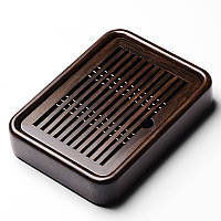 Чабань деревянная Shang Yan Fang (26,8*20*5) (темно - коричневая)
