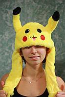 Светящаяся Шапка - Кугуруми - Пикачу (Pikachu) покемон