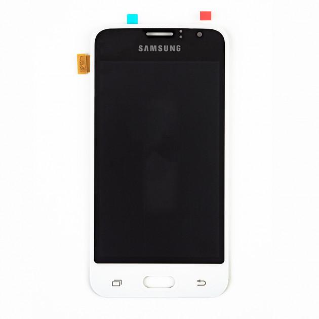 Дисплей Samsung J120 Galaxy J1 2016, с тачскрином, OLED, White