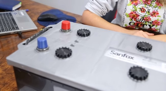 Аккумулятор SANFOX 6CT 60Ah  крышка