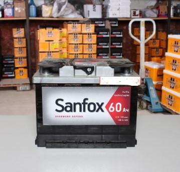 Аккумулятор SANFOX 6CT 60Ah  корпус