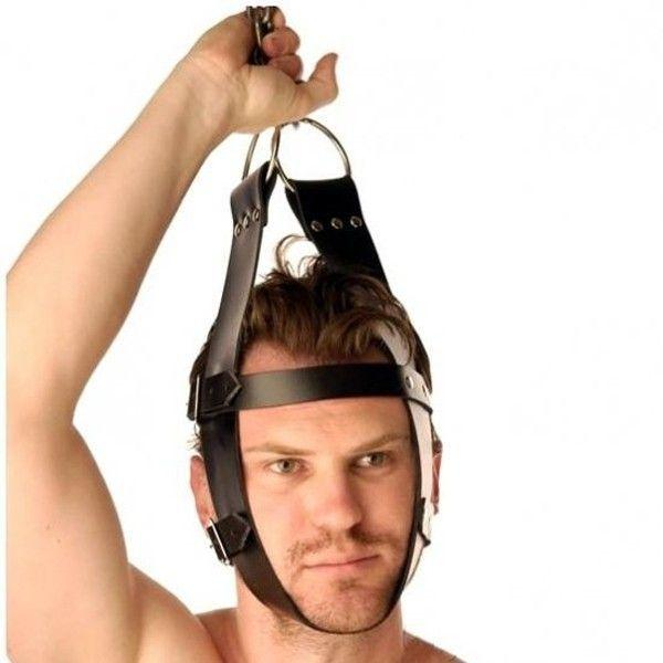 Кожаный крепитель для головы