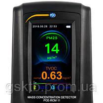 Анализатор формальдегида и качества воздуха PCE-RCM 11 (Германия), фото 2