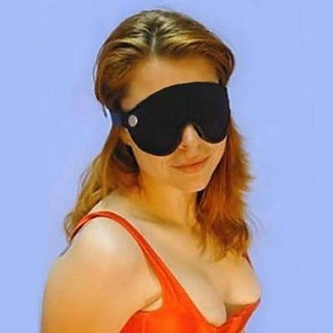Черная повязка для глаз, фото 2