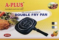 Сковорода двойная гриль A-Plus 1502 (32см)