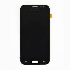 Дисплей (LCD) Samsung J200F Galaxy J2/  J200G/  J200H/  J200Y TFT с сенсором чёрный регулируется яркость