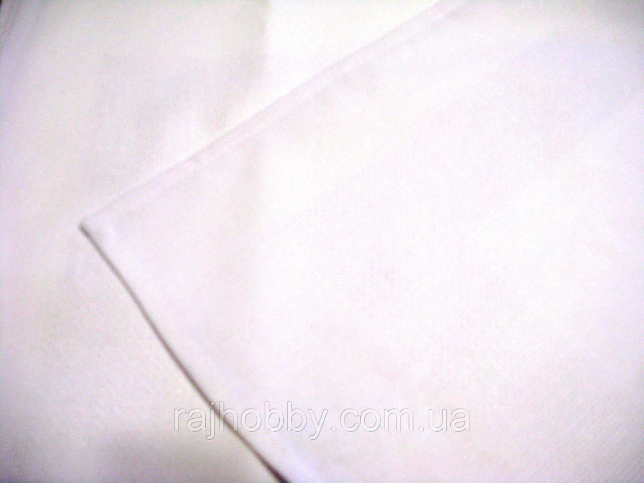 Сафетка для вышивания белая 31х31