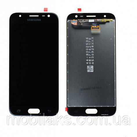 Дисплей Samsung J330 Galaxy J3(2017) Чорний(Black),GH96-10969A,оригінал, фото 2