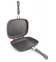 Сковорода двойная для гриля и жарки А-Плюс Fp-1502