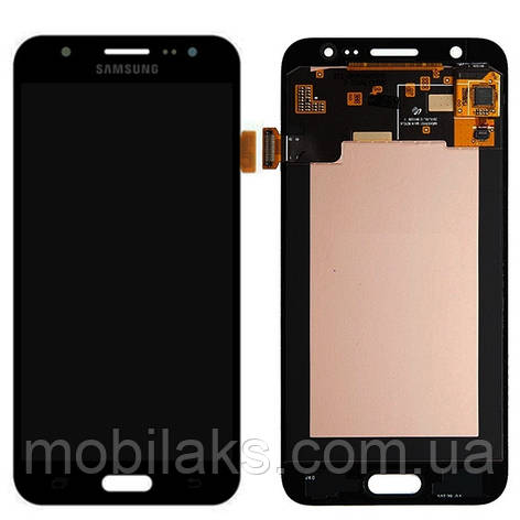 Дисплей (LCD) Samsung GH97- 17667B J500H Galaxy J5 сенсором чёрный сервисный, фото 2