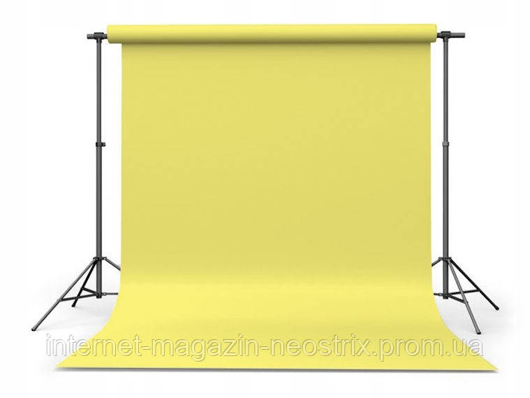 Студийный бумажный фон The BD Company 2,72х11 м (желтый) LIGHT YELLOW