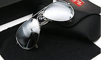 Очки Ray-Ban анти-блеск авиаторки 3025, фото 1