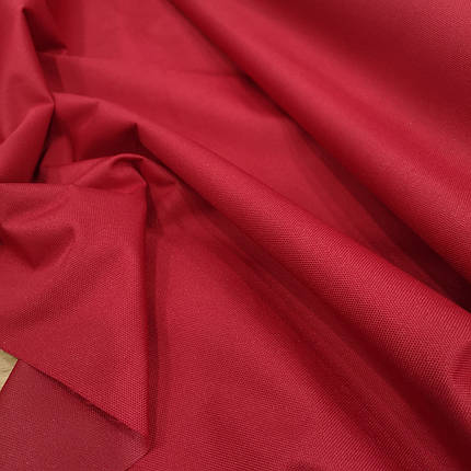 Ткань оксфорд 600d PU (полиуретан) красный, фото 2