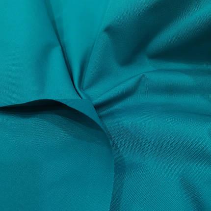 Ткань оксфорд 600d PU (полиуретан) бирюзовый, фото 2