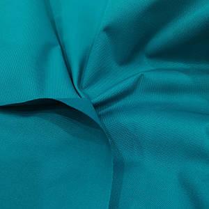 Ткань оксфорд 600d PU (полиуретан) бирюзовый