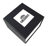 Черная подарочная картонная коробка Orient для наручных часов