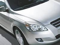 Реснички на фары Kia Ceed 2006-2012 г.в