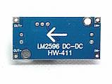 DC-DC понижающий конвертер LM2596S-411B c 3.2 - 40 В до 1.5 - 35 В, фото 3