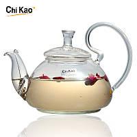 """Стеклянный заварник для чая """"Идеальный незнакомец"""" Chikao 400 мл"""