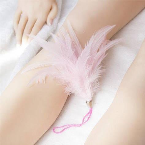 Тиклер розовый на шнурке, фото 2