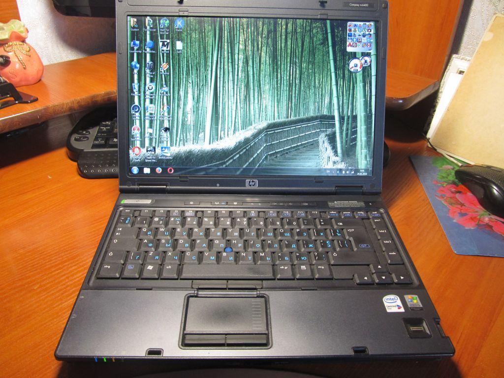 Ноутбук, notebook, HP Compaq nc6400, 2 ядра по 2,0 Ггц, 2 Гб ОЗУ, HDD 250 Гб