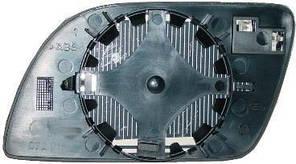 Вкладыш бокового зеркала VW Polo 02-05 правый 6Q0857522C