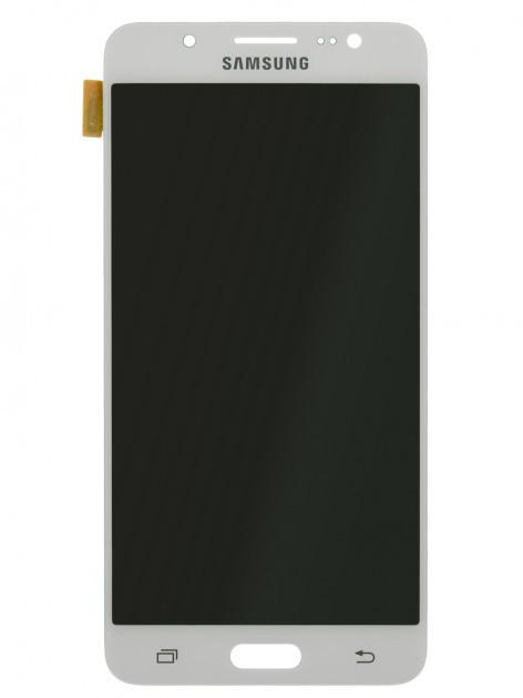 Дисплей (LCD) Samsung J510F/  J510H Galaxy J5 2016 TFT с сенсором белый  регулируется яркость