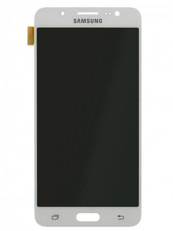 Дисплей (LCD) Samsung J510F/  J510H Galaxy J5 2016 TFT с сенсором белый  регулируется яркость, фото 2